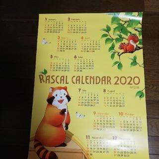 ラスカルカレンダー2020