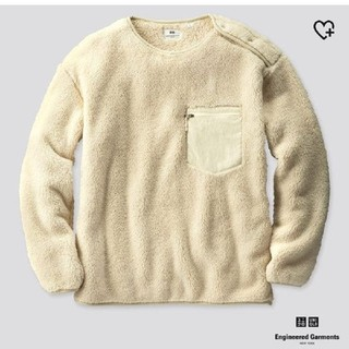 エンジニアードガーメンツ(Engineered Garments)のUNIQLO エンジニアドガーメンツ フリースプルオーバー L (スウェット)