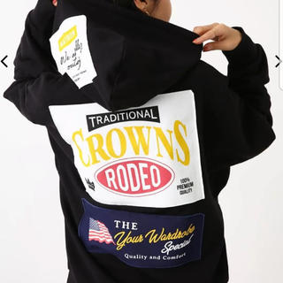 RODEO CROWNS WIDE BOWL - RODEOCROWNSWIDEBOWL メニータグパーカー