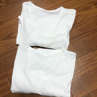 グンゼ(GUNZE)のGUNZE 半袖 肌着 シャツ  L 未使用(Tシャツ/カットソー(半袖/袖なし))