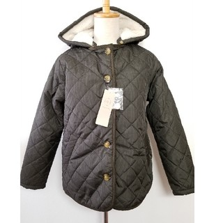 セー新品タグつき⭐サマンサモスモス SM2  フード付き キルティングジャケット