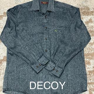 デコイ フランネルシャツ Lサイズ(シャツ)