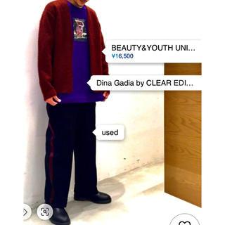 ビューティアンドユースユナイテッドアローズ(BEAUTY&YOUTH UNITED ARROWS)のBEAUTY&YOUTH  アルパカシャギー カーディガン(カーディガン)