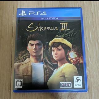 PlayStation4 - シェンムーIII(リテールDay1エディション)シェンムー3  PS4