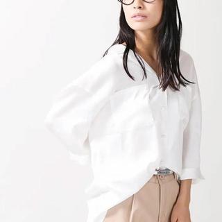 ウィゴー(WEGO)のWEGO⭐️新品⭐️五分袖サテン開襟シャツ(Tシャツ(半袖/袖なし))