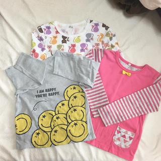 西松屋 - 西松屋&ベストサンクス 長袖Tシャツ3枚セット 120センチ
