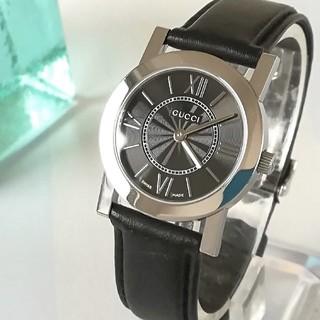 Gucci - 綺麗 グッチ 新品仕上げ済 レディースウォッチ 時計 プレゼント卒業式も 極美品
