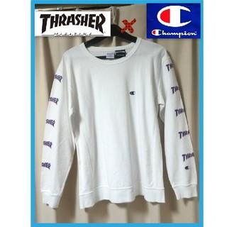 THRASHER - スラッシャー チャンピオン コラボ ロンT