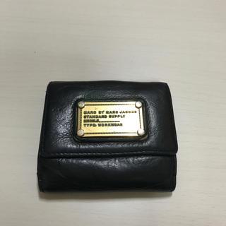 MARC JACOBS - マークジェイコブス 黒色 財布 数回使用