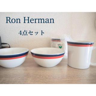 ロンハーマン(Ron Herman)の【未使用】ロンハーマン カリフォルニア 食器 4点セット(食器)