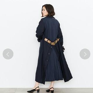 Ameri VINTAGE - AMERI☆バックプリーツレイヤードコート☆新品未使用タグ付き