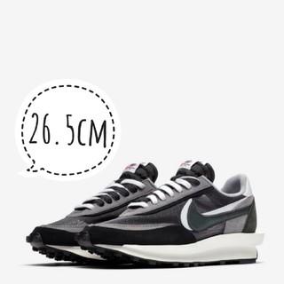 NIKE - 【新品】Nike x sacai LDWAFFLE 26.5cm black