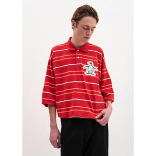 Jieda - doublet 3D PATCH OVERSIZED POLO SHIRT
