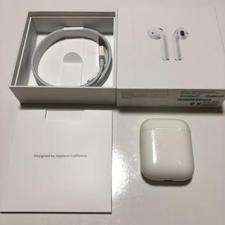 Apple - Apple AirPods アップル エアポッズ 第2世代 MV7N2J/A
