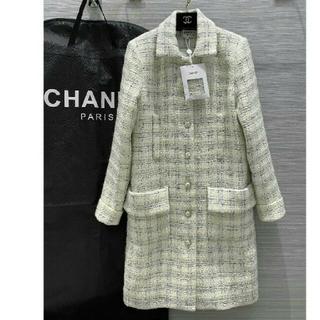 CHANEL - シャネル Chanel ロングコート ジャケット エレガント トレンチコート