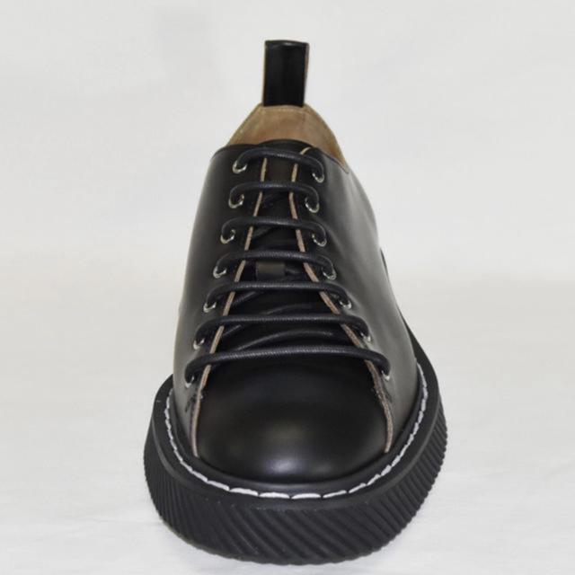 Jil Sander(ジルサンダー)のJIL SANDER(ジルサンダー)ホワイトステッチレースアップシューズ メンズの靴/シューズ(ドレス/ビジネス)の商品写真