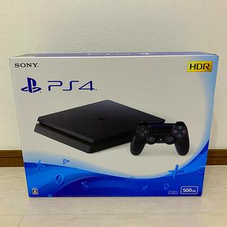 PlayStation4 - PlayStation4 本体 ジェットブラック 500GB PS4 プレステ4