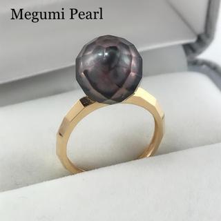K18YG タヒチ華パールリング(リング(指輪))