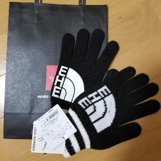 ザノースフェイス(THE NORTH FACE)のザ・ノース・フェイス新品手袋★ブラック(手袋)