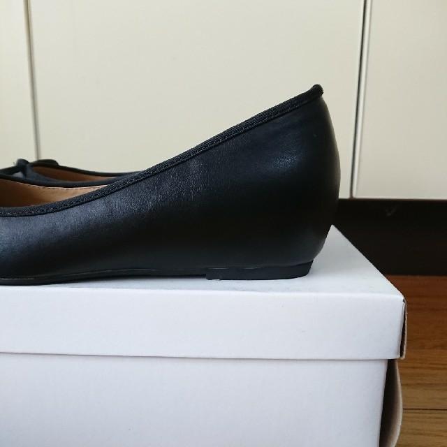 NATURAL BEAUTY BASIC(ナチュラルビューティーベーシック)のナチュラルビューティーベーシック・インヒールラウンドバレエシューズ  レディースの靴/シューズ(バレエシューズ)の商品写真