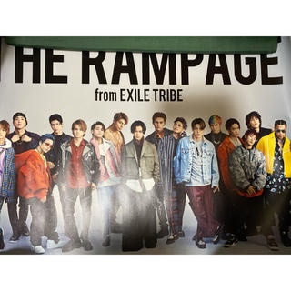 THE RAMPAGE - THE RAMPAGE 2019 LIVETOUR TYF ポスター