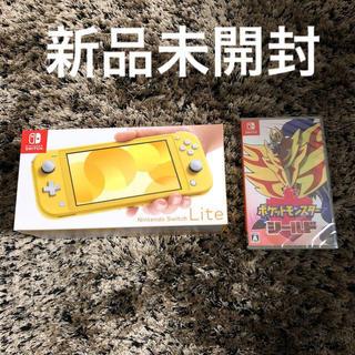 Nintendo Switch - Nintendo Switch  Lite イエロー+ポケモンシールド