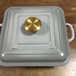 ルクルーゼ(LE CREUSET)のル・クルーゼ シグニチャーココット・スクエア(鍋/フライパン)