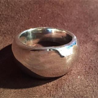極太甲丸 シルバー925 リング  19号(リング(指輪))