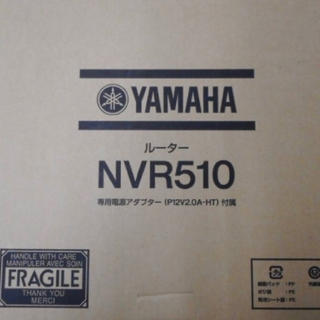 ヤマハ(ヤマハ)のYAMAHA NVR510 gottu様専用(PC周辺機器)