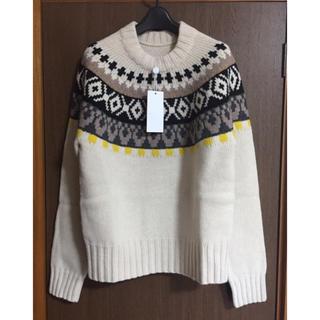 マルタンマルジェラ(Maison Martin Margiela)のL新品48%off メゾンマルジェラ フェアアイル ニット セーター メンズ(ニット/セーター)