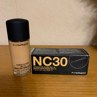 MAC - (新品未使用)MACファンデーションNC30