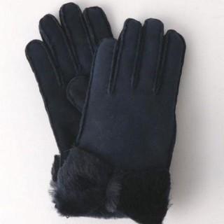 ユナイテッドアローズ(UNITED ARROWS)の【オーエンバリー】ムートンリボングローブ(手袋)