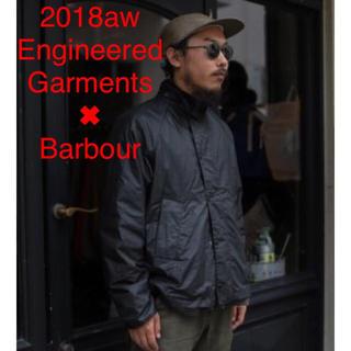 エンジニアードガーメンツ(Engineered Garments)のEG ✖︎ Barbour Graham Wax jacket BLACK L(ミリタリージャケット)
