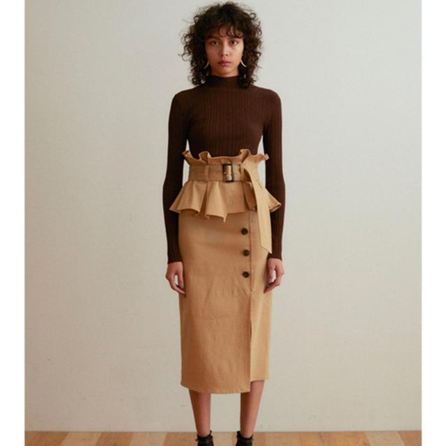 snidel(スナイデル)のSNIDEL ポンチタイトストレッチスカート レディースのスカート(ひざ丈スカート)の商品写真