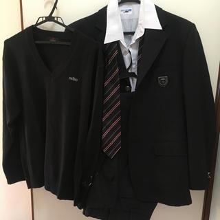 【美品】埼玉県 私立高校 男子 制服 セーター ワイシャツ セット