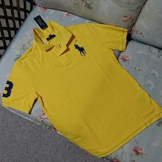 Ralph Lauren - 新品☆ラルフローレン 半袖ポロシャツ 黄色 150
