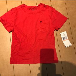 トミーヒルフィガー(TOMMY HILFIGER)の送料無料!新品タグ付きトミーヒルフィガーキッズTシャツ2t95サイズ(Tシャツ)