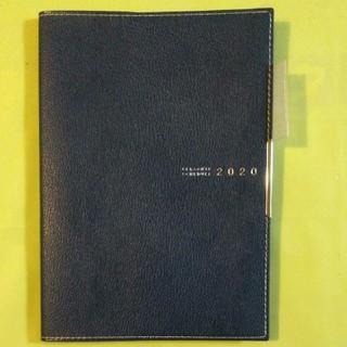 492 ディアクレール2 紺 高橋手帳 2020年1月始まり B6
