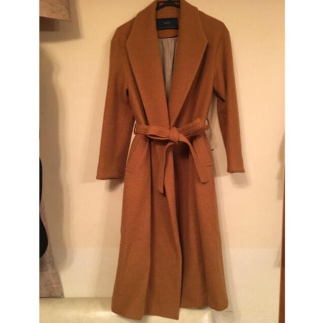 SHIPS(シップス)のSHIPS 羊毛 ガウンコート クリーニング済 レディースのジャケット/アウター(ガウンコート)の商品写真