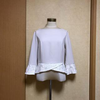 トッカ(TOCCA)のTOCCA トッカ❁︎刺繍&オーガンジー❁︎ブラウス(シャツ/ブラウス(長袖/七分))