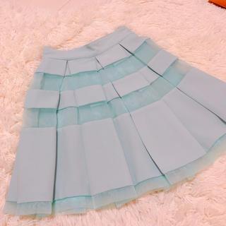 ティティアンドコー(titty&co)のtitty♡オーガンジースカート (ミニスカート)