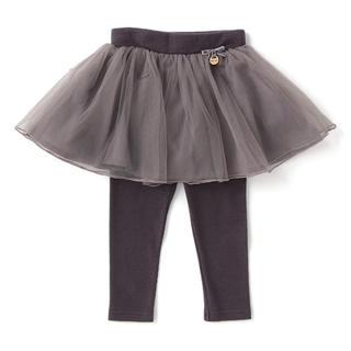 プティマイン(petit main)のチュールスカートつきレギンス(スカート)