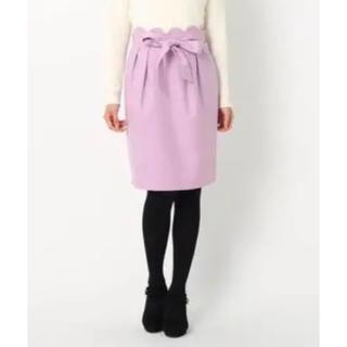 MISCH MASCH - 12/8までの週末限定お値下げ☆ミッシュマッシュ ウエストスカラップスカート