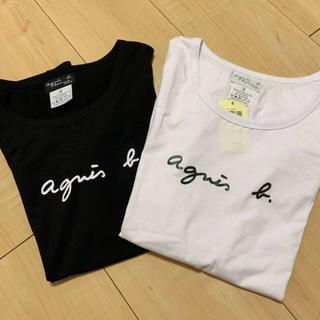 agnes b. - アニエスベーTシャツ 白黒セット