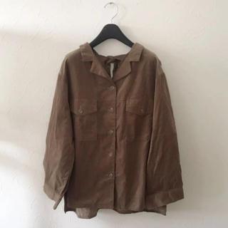 ダブルクローゼット(w closet)の★w closet♡オーバーサイズシャツ★(シャツ/ブラウス(長袖/七分))