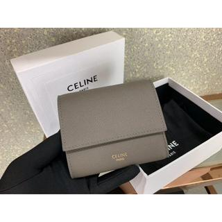 celine - セリーヌ Celine  三つ折財布  ミディアムグレー