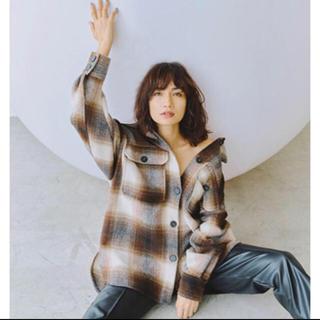 H&M - H&M ヘリンボーンシャツジャケット
