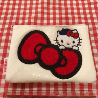 ハローキティ - キティ ポーチ BABBIコラボ ハローキティ