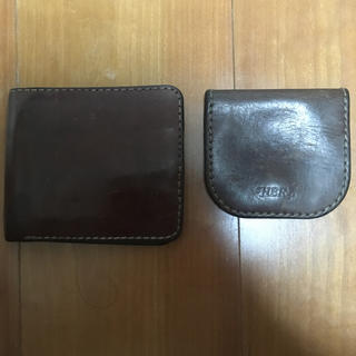 ヘルツ(HERZ)のHERZ 二つ折財布 馬蹄型小銭入れ(折り財布)