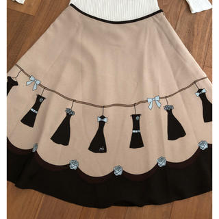 M'S GRACY - エムズグレーシー(5)ワンピース柄スカート  40サイズ 美品